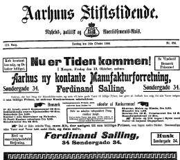 danmarks første supermarked