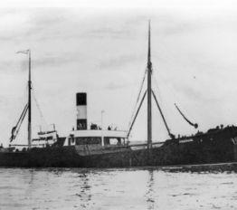 A.P. Møller-Mærsks første skib, s.s. Svendborg fra 1904
